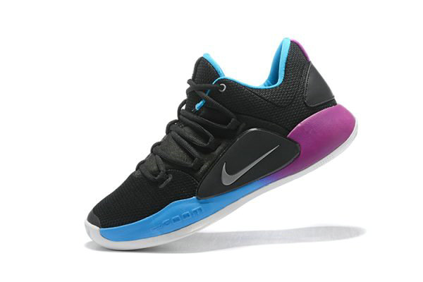 Cheap Nike Hyperdunk X Low EP 2018 Black Purple-Blue Mens Basketball Shoes On VaporMaxRunning