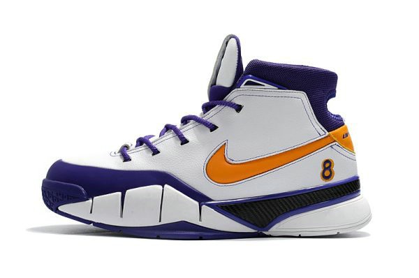 Cheap Nike Kobe 1 Protro Final Seconds White Del Sol-Varsity Purple AQ2728-101 On VaporMaxRunning