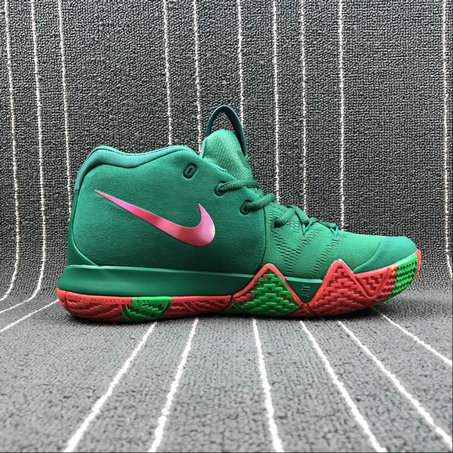Nike Kyrie 4 London 943807-611 Green Color Couleur Verite On VaporMaxRunning