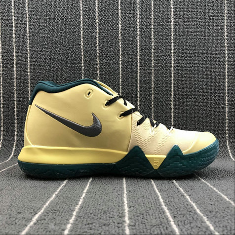 Nike Kyrie 4 London 943807-618 Khaki Green Vert On VaporMaxRunning