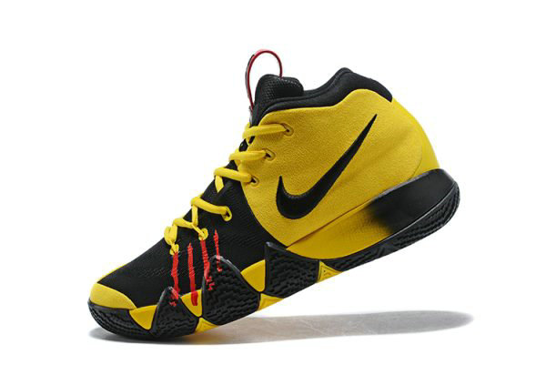 Cheap Nike Kyrie 4 Mamba Mentality Bruce Lee Tour Yellow Black For Sale On VaporMaxRunning