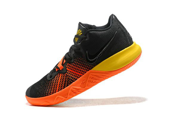Cheap Nike Kyrie Flytrap Black Orange-Yellow Mens Shoes Free Shipping On VaporMaxRunning