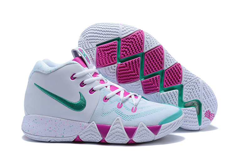 bc483ddf4f21 2018 New Kyrie Shoes Cheap Nike Kyrie Irvings 4 IV Colorways Purple White  Grass Green On