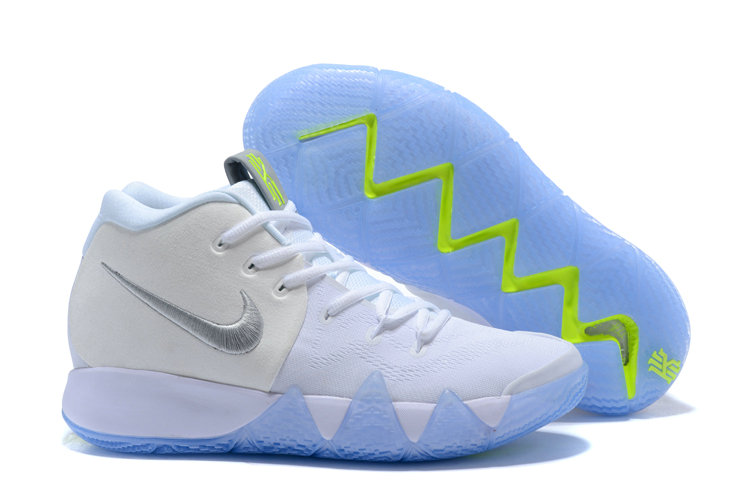 1920a6d6901b 2018 New Kyrie Shoes Cheap Nike Kyrie Irvings 4 IV Colorways White Green  Blue On VaporMaxRunning