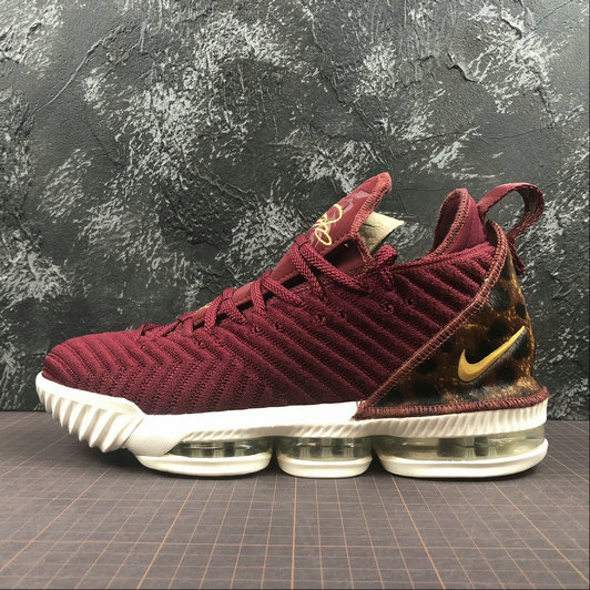 Nike LeBron James XVI EP AO2595-601 Team Red Metallic Gold Multi Equipe Rouge OR Metallicque On VaporMaxRunning