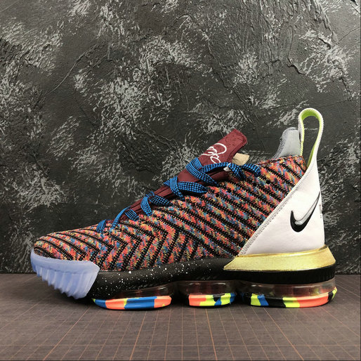 Nike LeBron James XVI EP BQ6582-900 Multi-Color Couleur Multipe On VaporMaxRunning