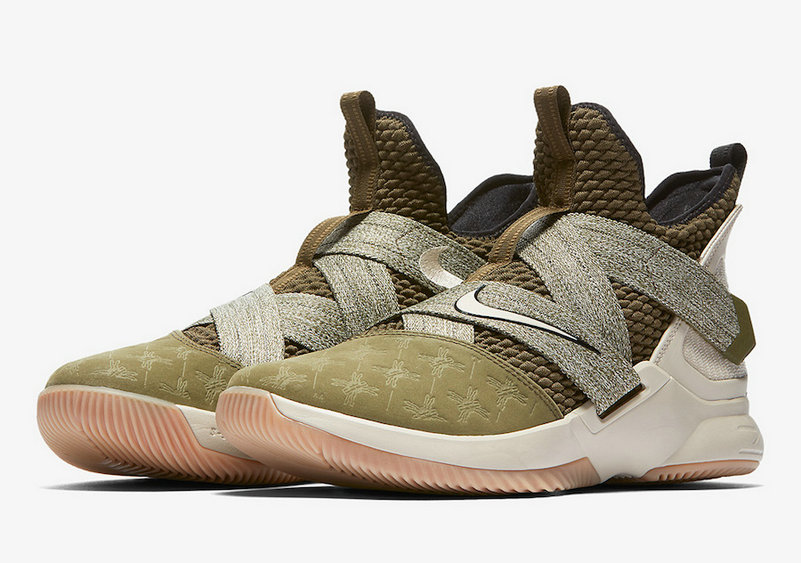 Cheap Nike LeBron Soldier 12 AO2609-300 LAND AND SEA PACK On VaporMaxRunning