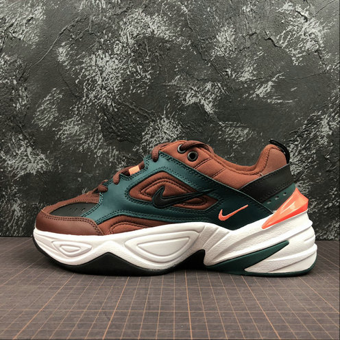 Cheap Nike M2K Tekno AV4789-200 Pueblo Brown Black Rainforest Marron Noir On VaporMaxRunning