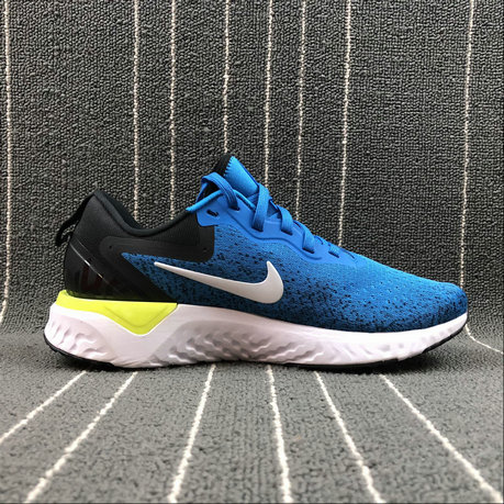 Nike Odyssey React AO9819-400 LAKE BLUE BLACK NOIR On VaporMaxRunning