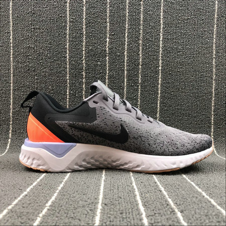 Nike Odyssey React WOMENS AO9820-004 GUNSMOKE BLACK TWILIGHT PULSE FUMEE DE PISTOLET NOIR On VaporMaxRunning