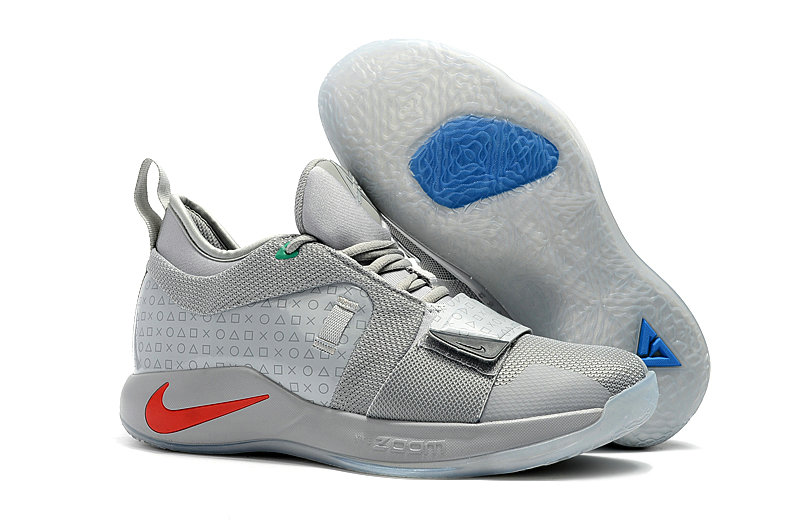 Cheap Nike PG 2 AJ2039-002 Pure Platinum Neo Turquoise-Wolf Grey-Aurora Green On VaporMaxRunning