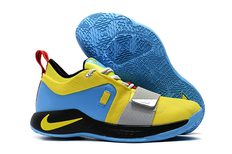 Cheap Nike PG 2.5 BQ9457-740 Opti Yellow Blue Hero-Black-University Red-Metallic Silver On VaporMaxRunning