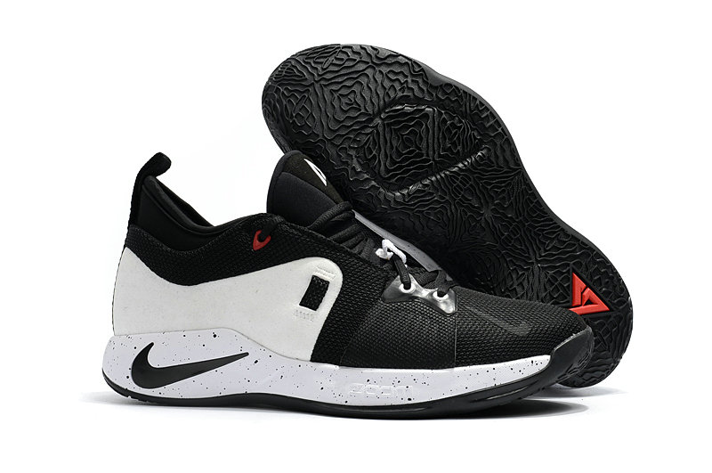 2018 New PG Shoes Cheap Nike PG2 Colorways Basketball Shoes White Black On VaporMaxRunning