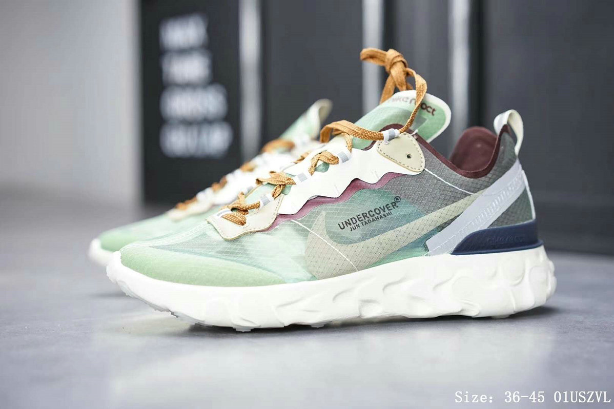outlet store 04241 8034d Nike React Element 87 Mens Womens Releasing In Neptune Green On  VaporMaxRunning