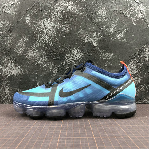 Cheap Nike VaporMax x Air Max 2019 AR6631-400 Indigo Force Black Lakeside Indigo Vibrant Rivage Noir On VaporMaxRunning