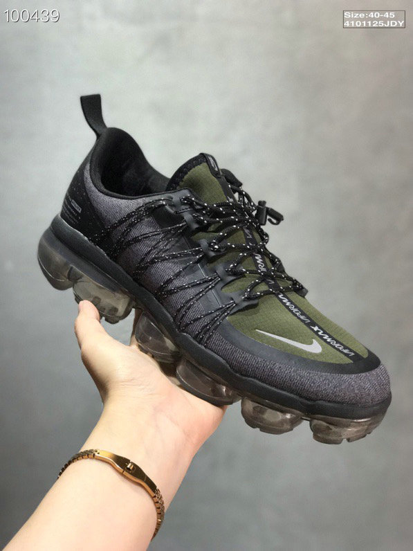 Nike Vapormax Run Utility Dark Grey Amarillo-Black AQ8810-008 On VaporMaxRunning