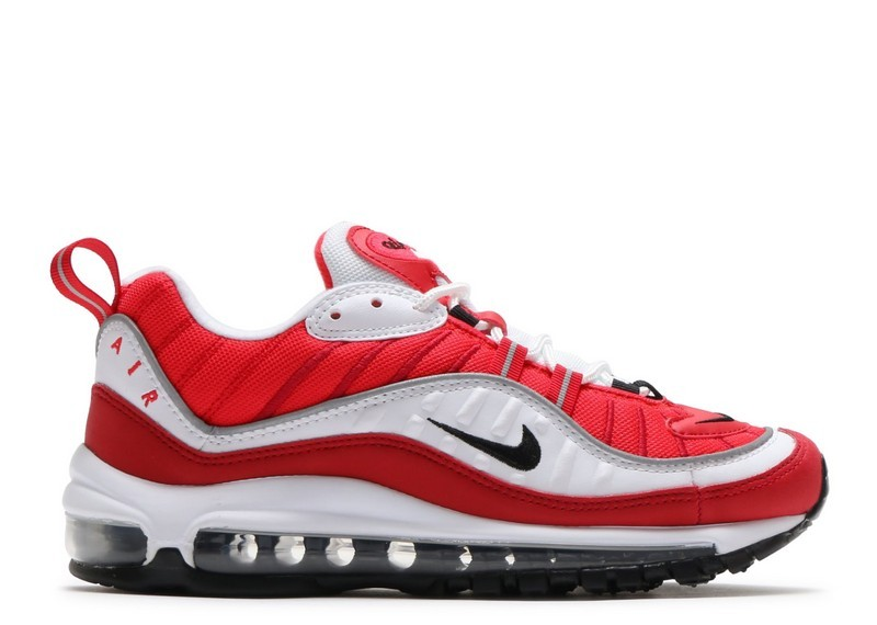 Cheap Nike Wmns Air Max 98 Ah6799-101 White Black Gym Red Reflect Silver On VaporMaxRunning