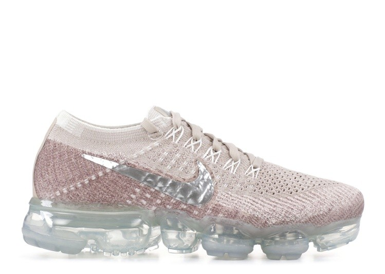 Cheap Nike Wmns Air Vapormax Flyknit 849557-202 String Chrome Sunset Glow  Taupe Grey On 6d3d284433