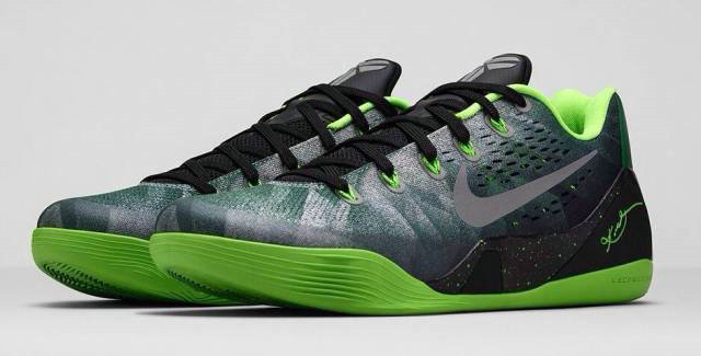 Nike kobe 9 EM Gorge Green  Barons infrared legend BHM On VaporMaxRunning