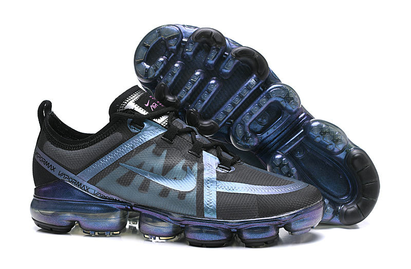 Nikes New Air Vapormax 2019 Premium Light Blue Black Purple On VaporMaxRunning