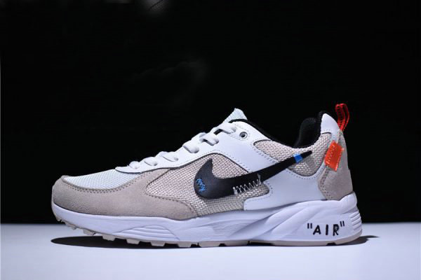 Cheap Off-White x Nike Air Icarus Extra QS Trainers White-Sail 819860-100 On VaporMaxRunning