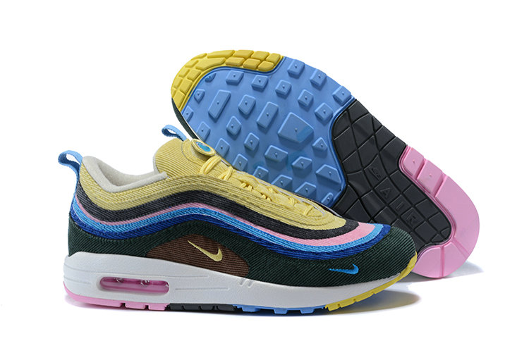Sean Wotherspoon X Nike Air Max 1 97 Vf Sneaker Black Blue Yellow