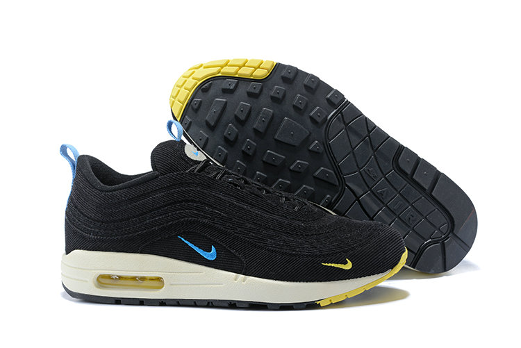 Sean Wotherspoon X Nike Air Max 1 97 Vf Sneaker Yellow Blue Black