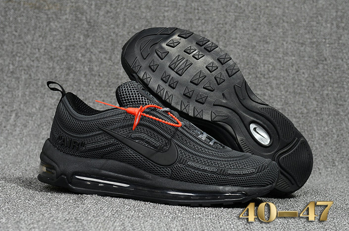 pretty nice 1960d c0d9e Undefeated x Nike Air Max 97 Black Cheap Air Max 97 On ...