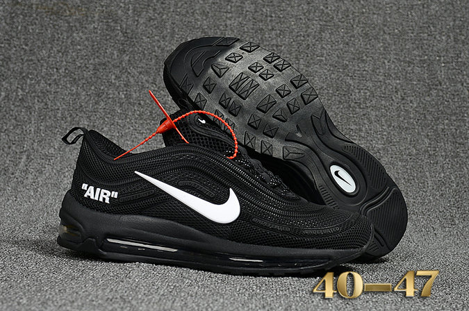 8a85a8c0dc3 Undefeated x Nike Air Max 97 Black White Cheap Air Max 97 On VaporMaxRunning