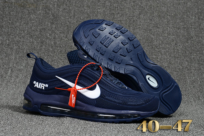 Undefeated x Nike Air Max 97 Royal Blue