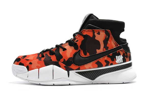 Cheap Undefeated x Nike Zoom Kobe 1 Protro Red Camo Mens Shoes For Sale On VaporMaxRunning