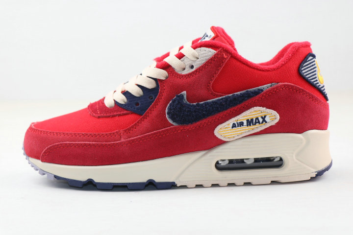 Where To Buy 2020 Cheap Nike Air MAX 90 Vaserty Pack University Red 858954-600 On VaporMaxRunning