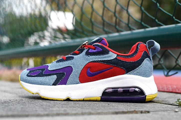 Where To Buy 2020 Cheap Nike Air Max 200 Voltage Purple University Red CK5668-600 On VaporMaxRunning