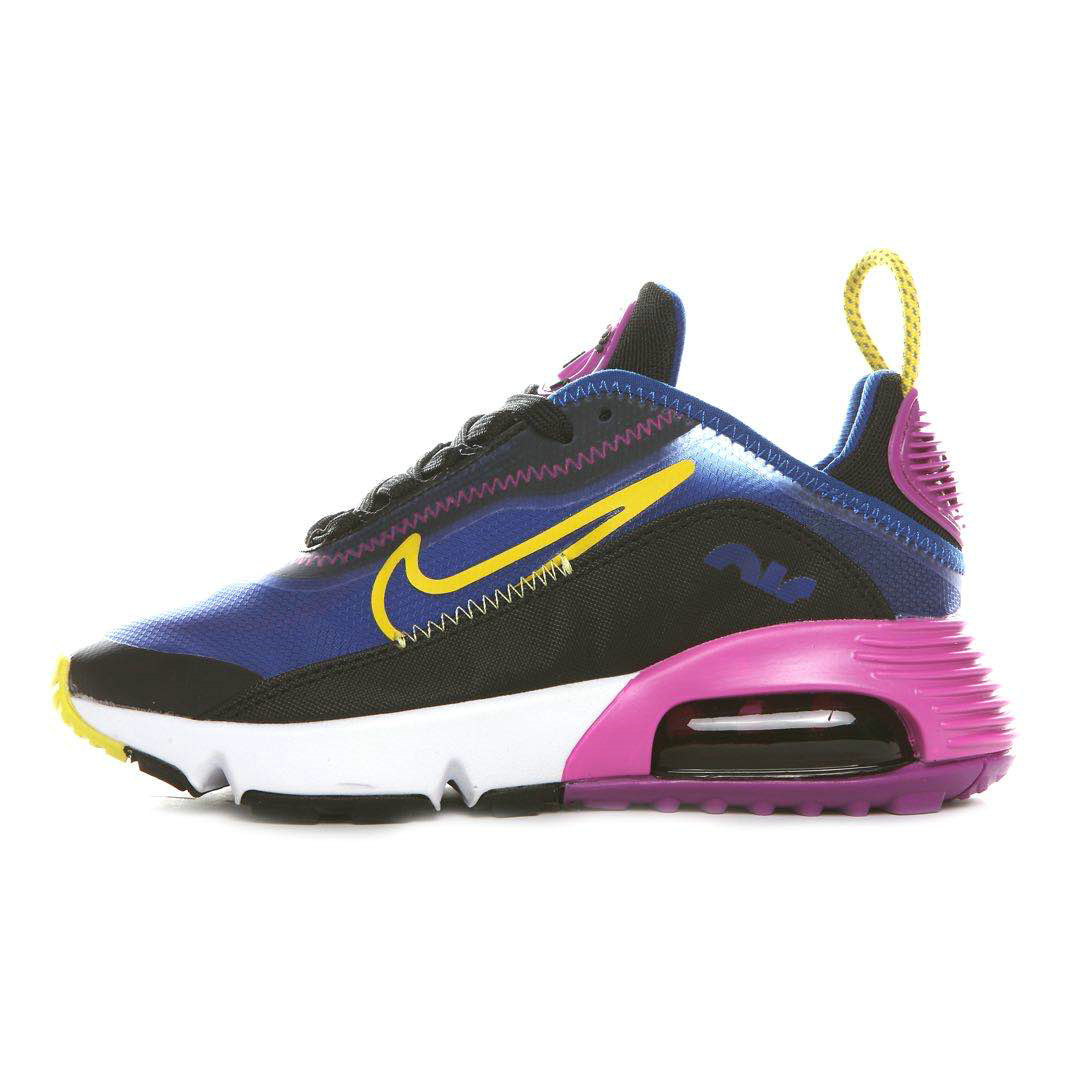 Where To Buy 2020 Cheap Nike Air Max 2090 Colorway Blue Void Black-Active Fuchsia-Varsity Maize-White Ck2612-400 On VaporMaxRunning