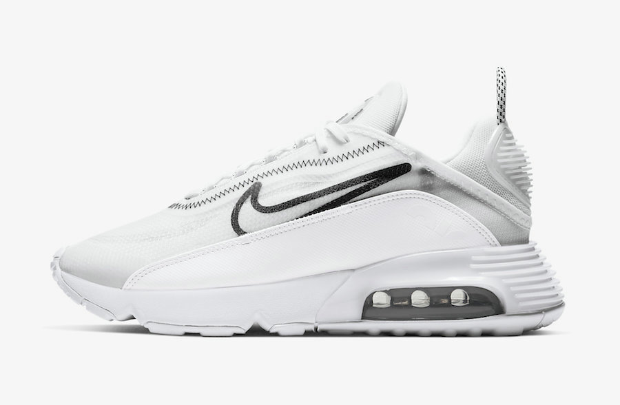 Where To Buy 2020 Cheap Nike Air Max 2090 White Black CK2612-100 On VaporMaxRunning