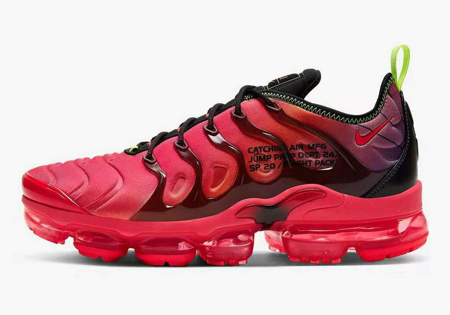 Where To Buy 2020 Cheap Nike Air VaporMax Plus Flight Pack Black Pink CU4709-001 On VaporMaxRunning