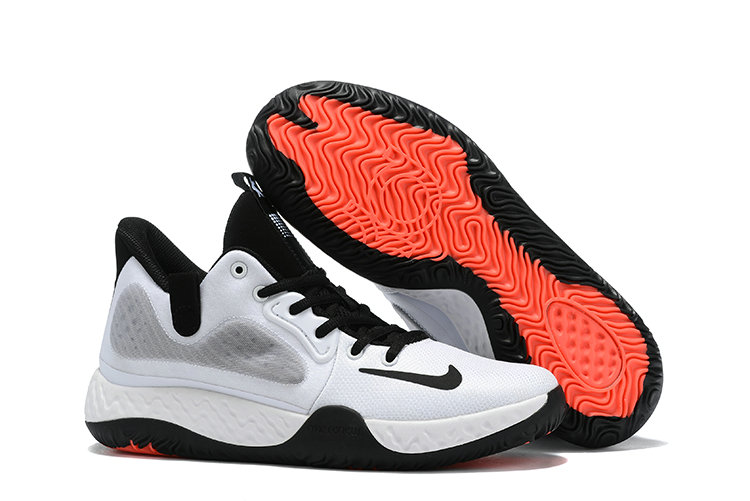Where To Buy 2020 Cheap Nike KD Trey 5 White Blak Orange Red On VaporMaxRunning