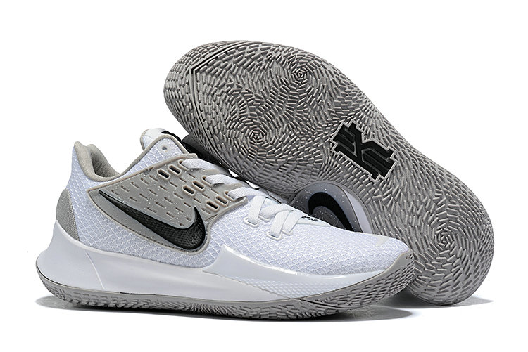 Where To Buy 2020 Cheap Nike Kyrie 2 Low White Cool Grey Black On VaporMaxRunning