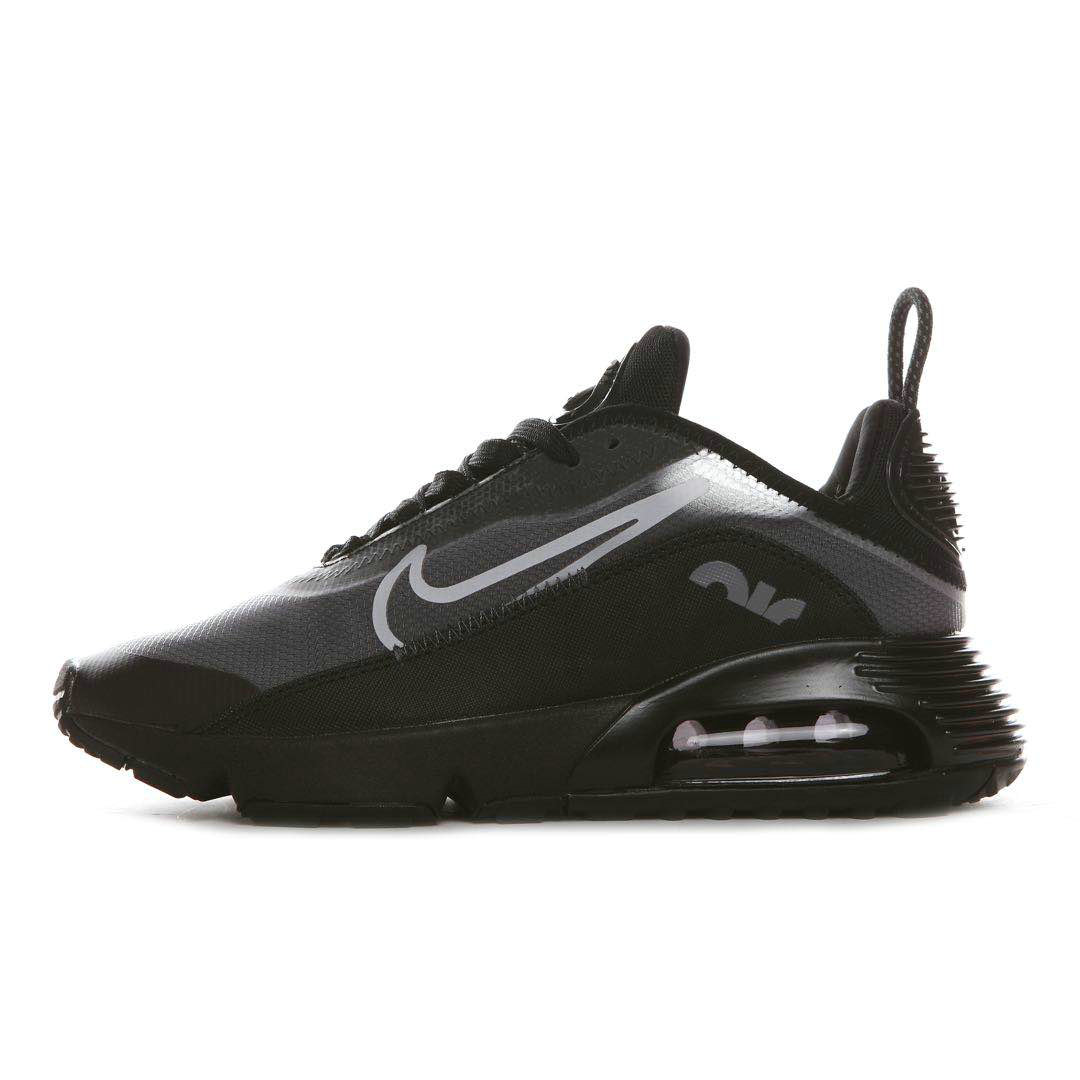 Where To Buy 2020 Mens Cheap Nike Air Max 2090 Black Wolf Grey-Anthracite-White BV9977-001 On VaporMaxRunning