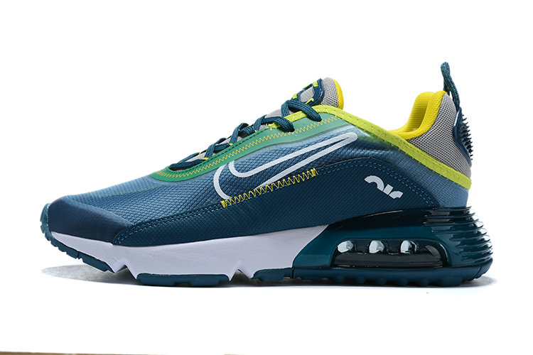 Where To Buy 2020 Mens Cheap Nike Air Max 2090 Blue Fluorescent Green White On VaporMaxRunning