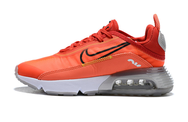 Where To Buy 2020 Mens Cheap Nike Air Max 2090 Lava Glow Black Flash Crimson On VaporMaxRunning