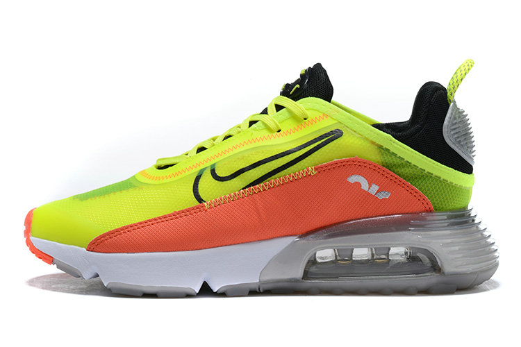 Where To Buy 2020 Mens Cheap Nike Air Max 2090 Orange Fluorescent Green Black White On VaporMaxRunning