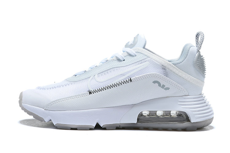 Where To Buy 2020 Mens Cheap Nike Air Max 2090 Triple White CV9977-100 On VaporMaxRunning