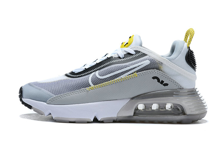 Where To Buy 2020 Mens Cheap Nike Air Max 2090 Wolf Grey White-Particle Grey BV9977-002 On VaporMaxRunning