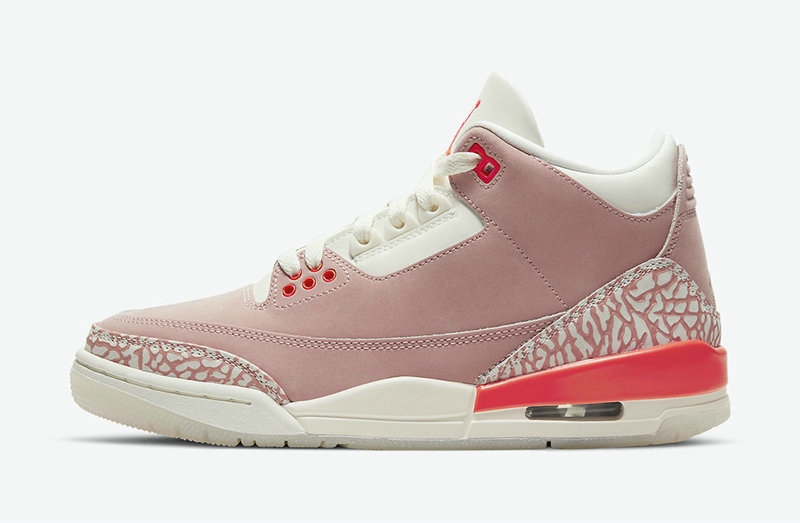Where To Buy 2021 Cheap Womens Nike Air Jordan 3 Rust Pink CK9246-600