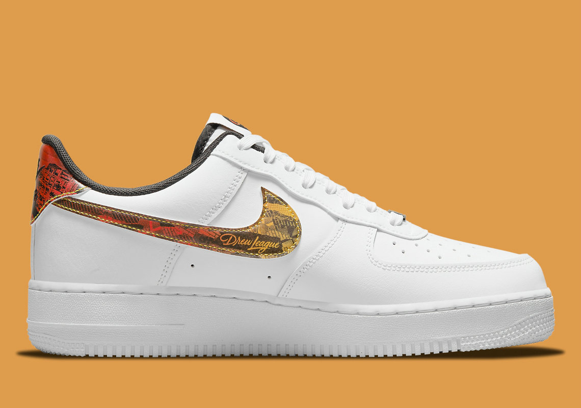 Where To Buy 2022 Cheap Nike Air Force 1 Low Drew League White Black Multi-color DM7578-100 On VaporMaxRunning