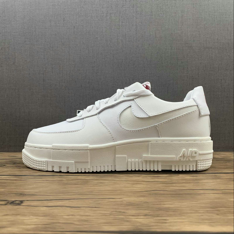 Where To Buy 2022 Cheap Nike Air Force 1 Pixel AF1 Summit White For Sale CK6649-105 On VaporMaxRunning
