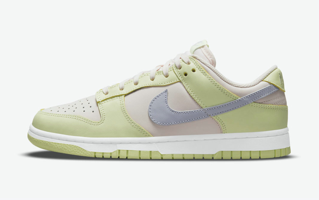 Where To Buy 2022 Cheap Nike Dunk Low Light Soft Pink Ghost-Lime Ice-White DD1503-600 On VaporMaxRunning
