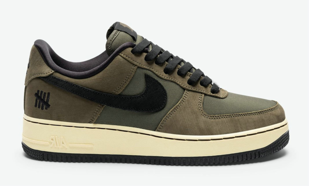Where To Buy 2022 Cheap Undefeated x Nike Air Force 1 Low Dunk vs AF1 Cargo Khaki Black DH3064-300 On VaporMaxRunning