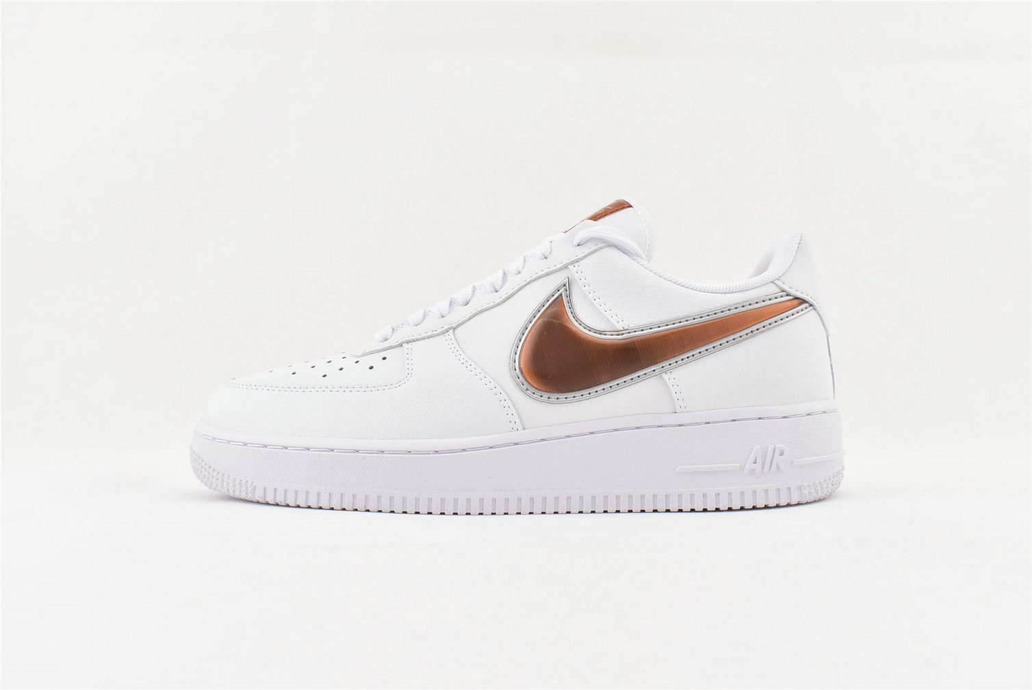 Where To Buy Cheap Nike Air Force 1 07 LV8 3 White Court Purple Infrared 23 CI6387-171 On VaporMaxRunning